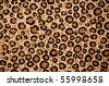 Leopard Print Background Rug Carpet - stock photo
