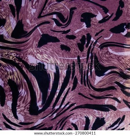 Leopard skin seamless background - stock photo