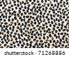 Leopard Skin textile - stock photo