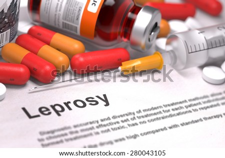 Does leprosy have a vector agent?
