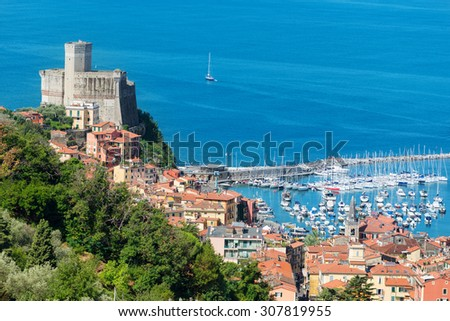 Lerici, Liguria, Italy - stock photo