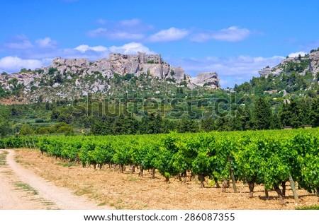 Les Baux-de-Provence  - stock photo