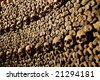 Les Catacombes, Paris - stock photo
