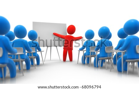 Lessons - stock photo