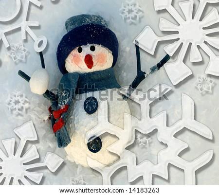 Let It Snow - stock photo