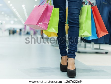 Let's go shopping! - stock photo