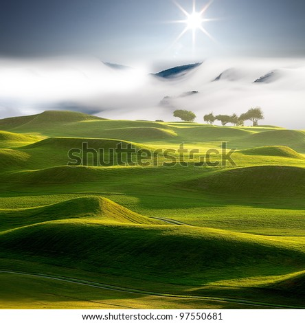 Let's golf,,,,,,,, - stock photo