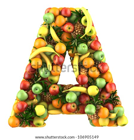 Fruit Letters Stock Images Royalty Free Images Amp Vectors