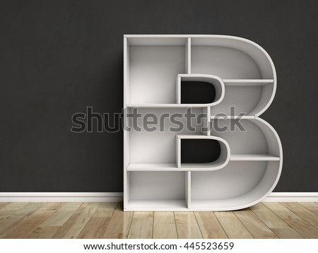 B reading stock images royalty free images vectors for Letter shaped shelves