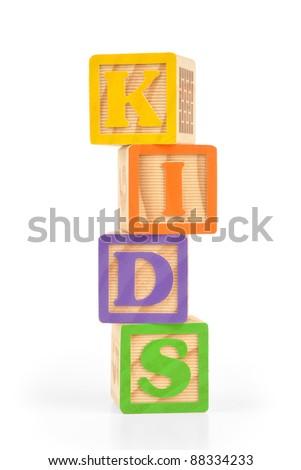 Letter Blocks - stock photo