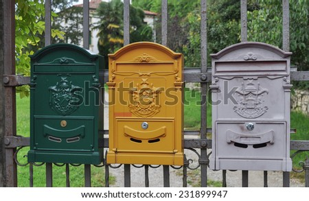 Letter box mailbox receiving incoming mail stock photo edit now letter box mailbox for receiving incoming mail spiritdancerdesigns Image collections