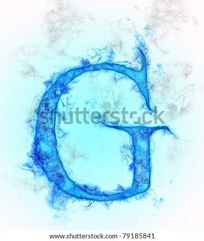 Letter g water ink design stock illustration 79185841 shutterstock letter g in water ink design altavistaventures Images