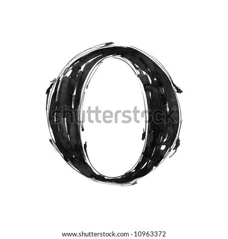O Alphabet Logo letter O  Alphabet symbol