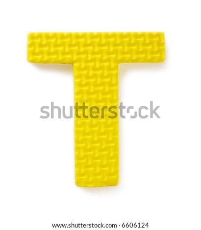 Letter S isolated on the white background - stock photo