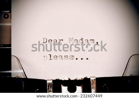Instead write eye catching cover letter with dear sir madam and begin