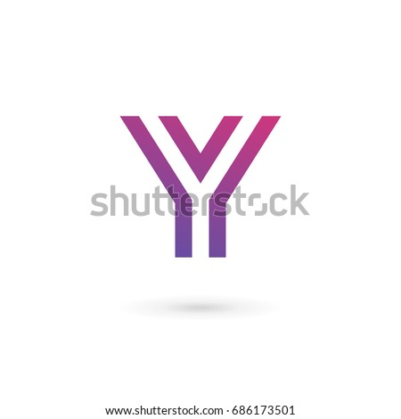 Vector purple letter y logo diamond stock vector 528407986 letter y logo icon design template elements sciox Image collections