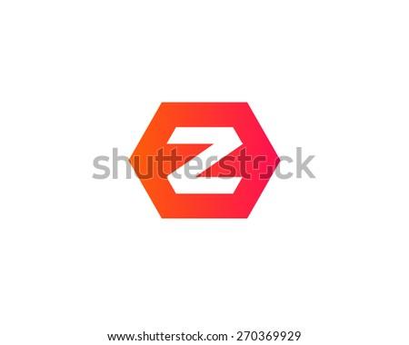 Letter z logo icon design - stock photo