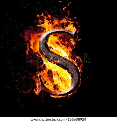 Letters symbols fire letter s stock illustration 168608924 letters and symbols in fire letter s thecheapjerseys Images