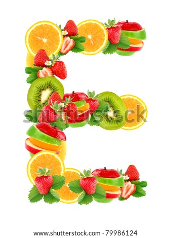 5 letter fruit fruit letters stock photos images amp pictures 20225