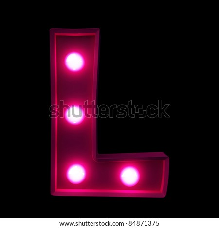 letters for signs with lamps