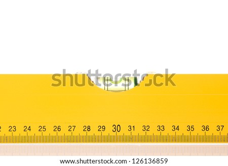Level close up - stock photo