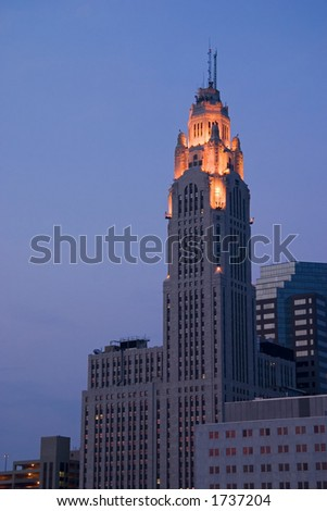 LeVeque Tower in Columbus, Ohio.
