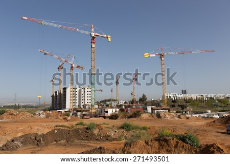 Levers in construction building work
