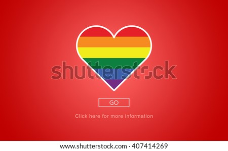 Lgbt Proud Homosexual Bisexual Transgender Concept - stock photo