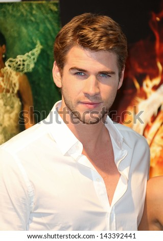 Liam Hemsworth at the 66th Cannes Film Festival - The Hunger Games: Catching Fire - photocall. 18/05/2013 - stock photo