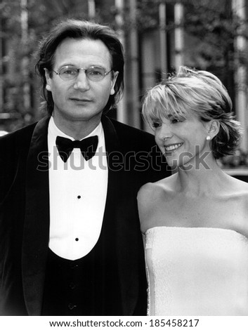 Liam neeson natasha richardson tony awards stock photo for Natasha richardson liam neeson wedding