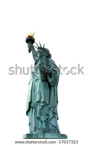liberate statue - stock photo