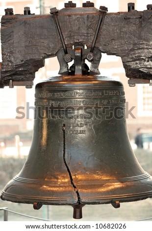 Liberty bell in Philadelphia P.A - stock photo