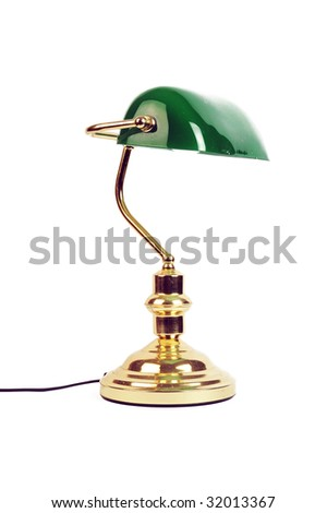 library lamp - stock photo