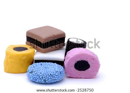 Licorice Sweets - stock photo