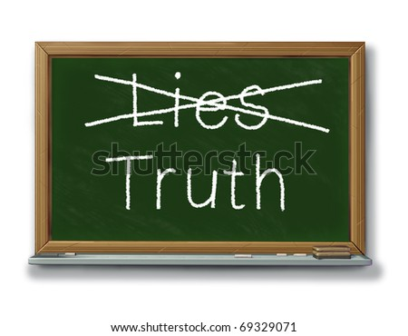 lies truth trust security isolated reliability dishonesty dilemma politician business guilt two faced - stock photo