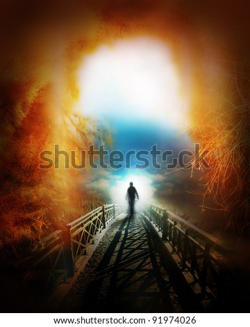 life after death - stock photo