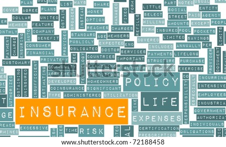 Life Insurance Policy and Choose or Buy One - stock photo