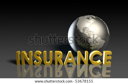 Life Insurance Policy as a Concept in 3d - stock photo