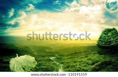 Life is beautiful - stock photo