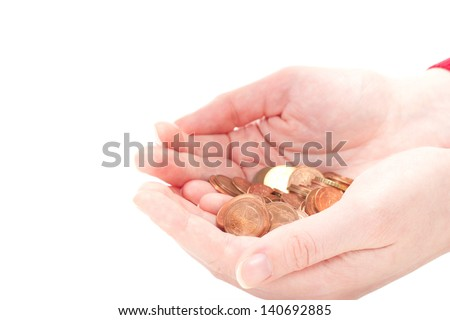 Life is getting every day more expensive - stock photo