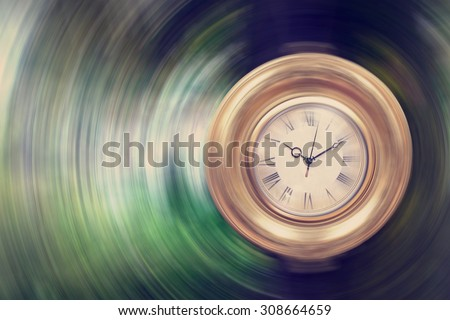 Life passing by - time concept - stock photo