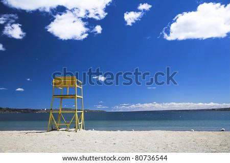 Lifeguard - stock photo