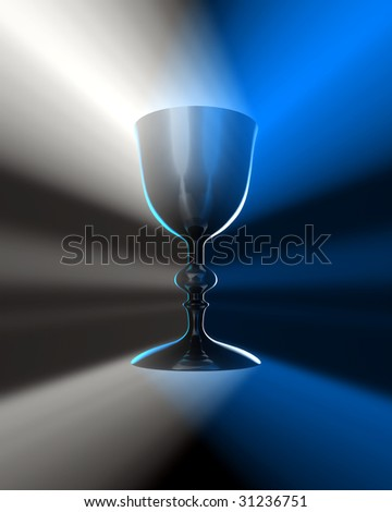 light and  chalice