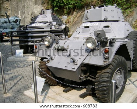 Light armoured vehicle