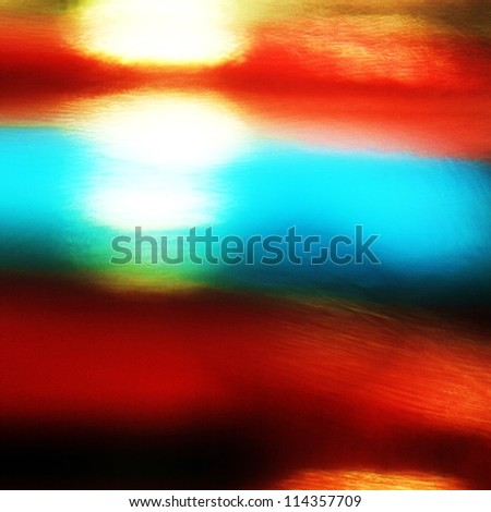 Light at end of tunnel -  abstract esoteric background
