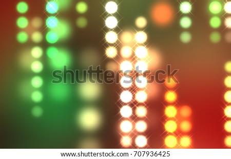 light background abstract creative wallpaper digital illustration - Digital Christmas Lights