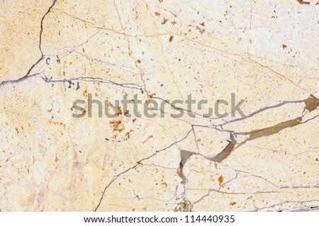 light beige marble with thiny line - stock photo