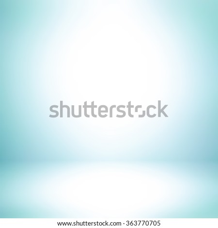 Light blue abstract background with radial gradient effect - stock photo
