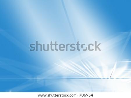 Light blue background - stock photo