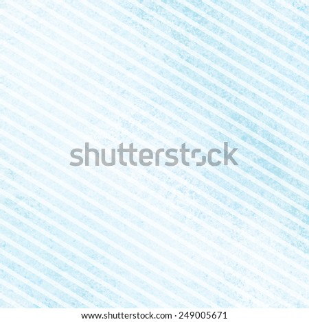 light blue background with stripes in diagonal pattern and faint texture, baby boy birth announcement or shower invitation background - stock photo